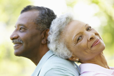 elderly couple enjoy loving sex as healthy lifestyle choice