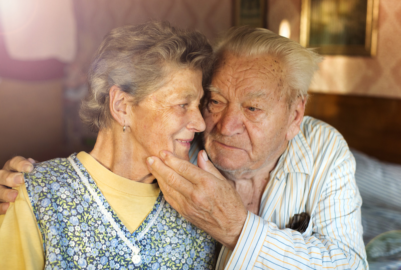 loving connected senior sex