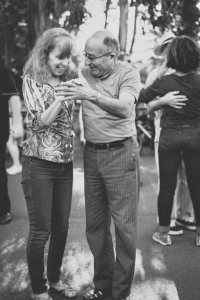 elderly-man-and-woman dancing